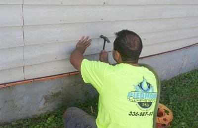 Piedmont Plumbing Service - Greensboro, NC. Way after!