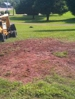 Stump and root removal done correctly with chip removal and leveling ready to replant or sod