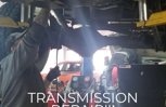 Transmission work on a Dodge Cummins! If you think you need a transmission repair, call Monaghan's Auto Repair 702-906-2444