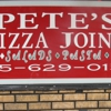 Pete's Pizza Joint