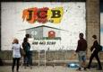 Jcb Painting - Norton, MA. Jcb Painting logo on brick wall