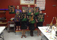 Painting with a Twist - Flower Mound, TX