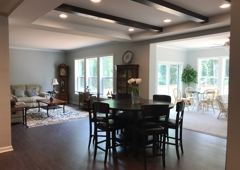 Homes By Vanderbuilt - Sanford, NC. sun  room, dining, living rooms
