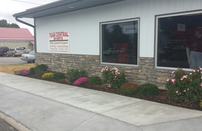 Arnold Masonry - Tell City, IN. Team Central Sports has the best looking sidewalk in town thanks to Arnold Masonry.
