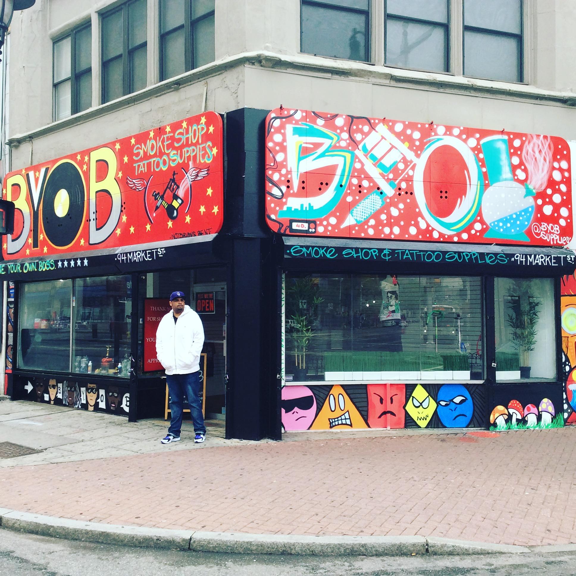 Byob Smoke Shop Tattoo Supplies 94 Market St Newark Nj