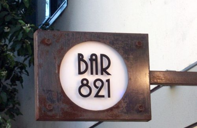 Bar 821 - San Francisco, CA