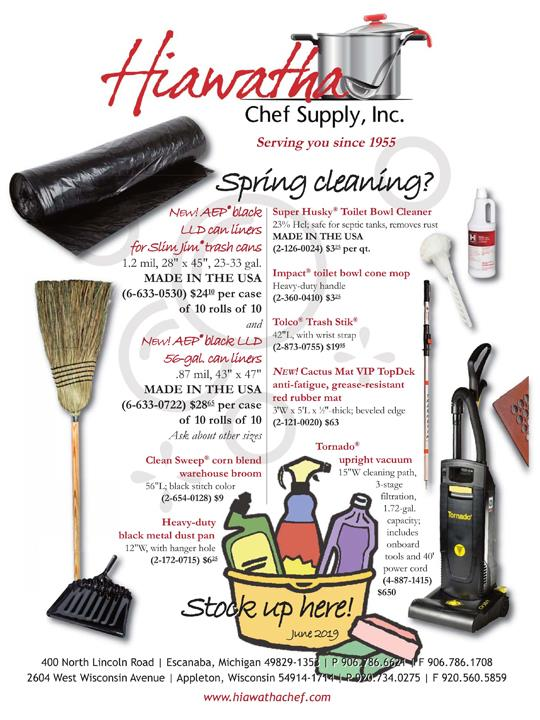 Hiawatha Chef, Bar and Janitorial Supply 2604 W Wisconsin