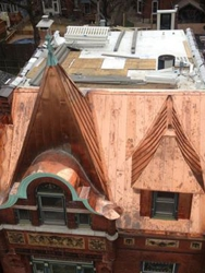 Tower Grove, St. Louis, MO - copper roof by Innovative Construction & Roofing