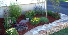 Trailer Haul Concrete & Rock Co-Modesto Thc Inc - Modesto, CA. Bark for Landscaping