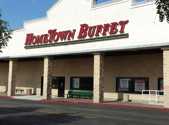 HomeTown Buffet - Temple City, CA. Front entrance