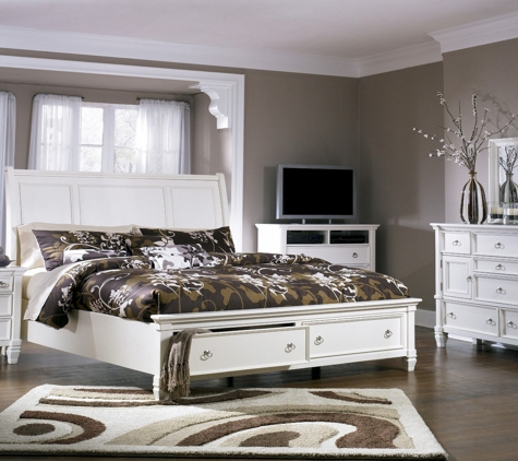 1stopbedrooms.Com - New York, NY. 1StopBedrooms offers Prentice Storage Sleigh Bedroom Set