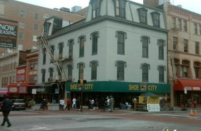 Shoe City 315 W Lexington St Baltimore