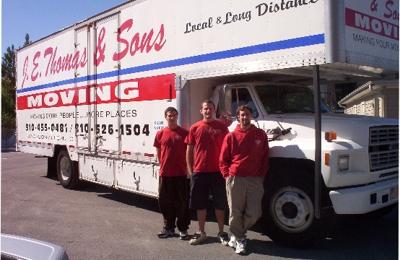 J E Thomas & Sons Moving - Jacksonville, NC