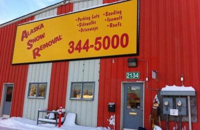 Alaska Snow Removal - Anchorage, AK. 2134 shop location
