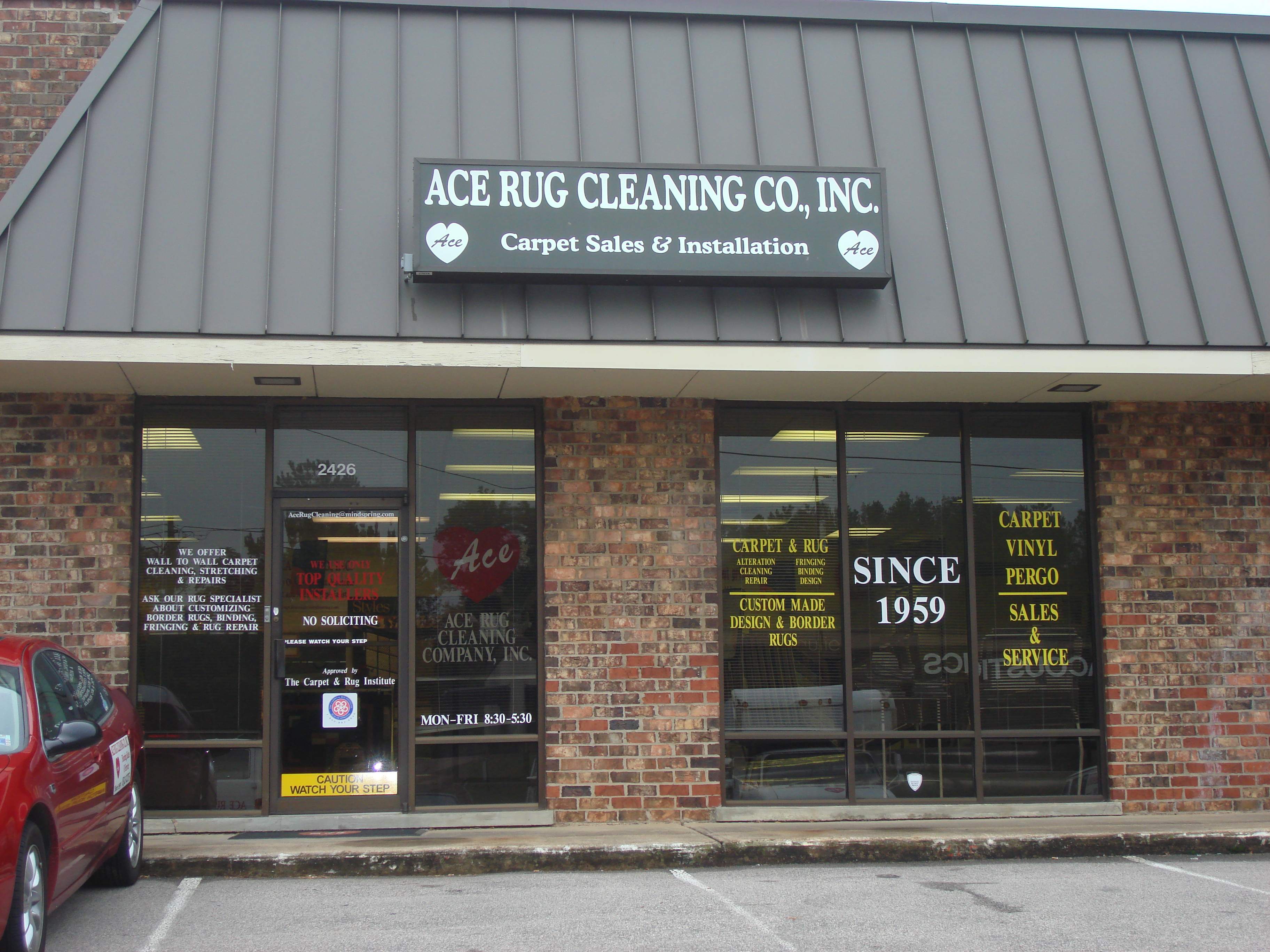 Ace Rug Cleaning Company Inc 2426