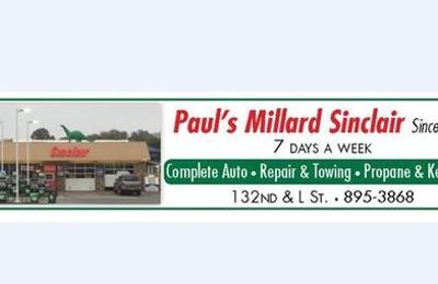 Paul's Millard Sinclair - Omaha, NE