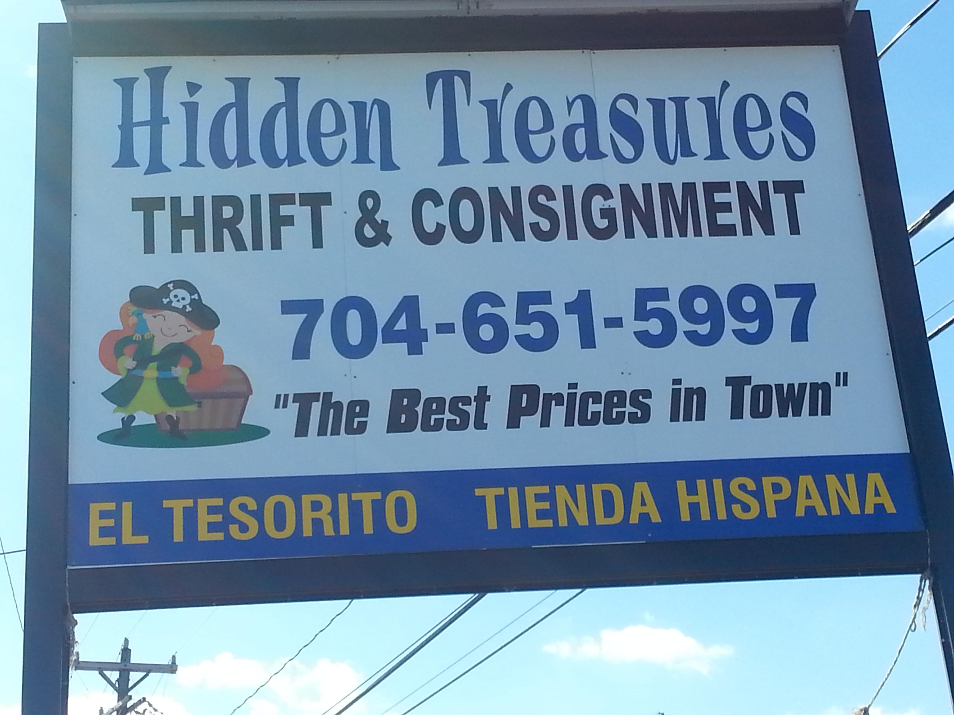 Hidden Treasures 4035 South Blvd Charlotte Nc 28209 Yp Com