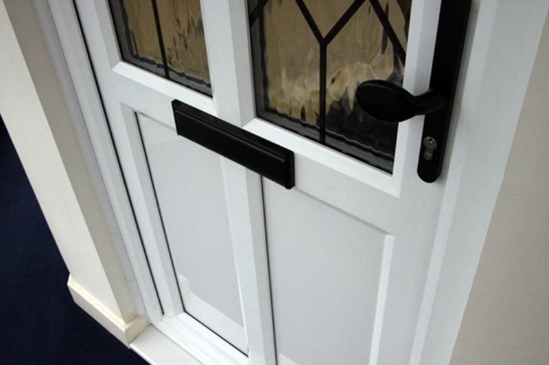 Locks next to glass may need extra protection.