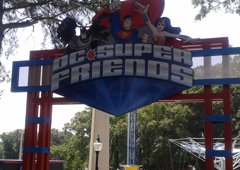 Six Flags Over Georgia - Austell, GA. DC Super Friends at Six Flags Over Georgia