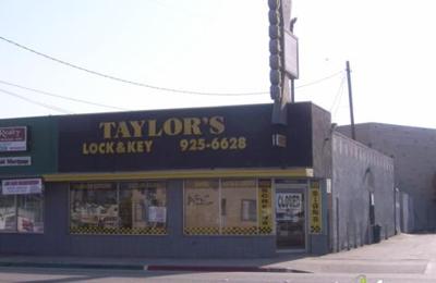 Taylor's Lock & Key
