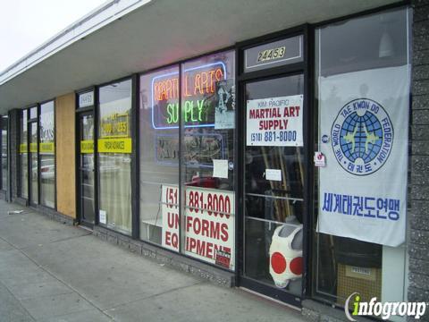 Kim Pacific Martial Arts Supplies 24453 Mission Blvd, Hayward, CA