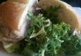 Cafe De La Presse - San Francisco, CA. Chicken club sandwich