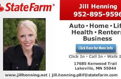 Jill Henning State Farm Insurance Agent 17685 Kenwood Trl