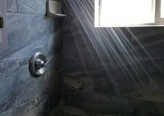 Mainline Plumbing Inc. - Escalon, CA. New shower!