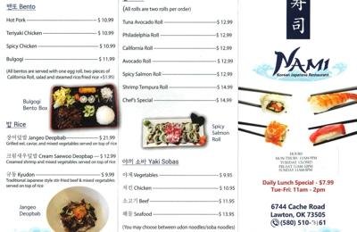 Nami Korean Restaurant - Lawton, OK