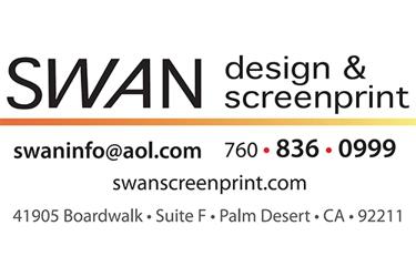 SWAN design & screenprint