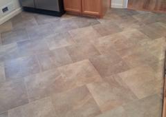 Home Pride Contracting LLC. - Chatham, NJ. Tile installation job.