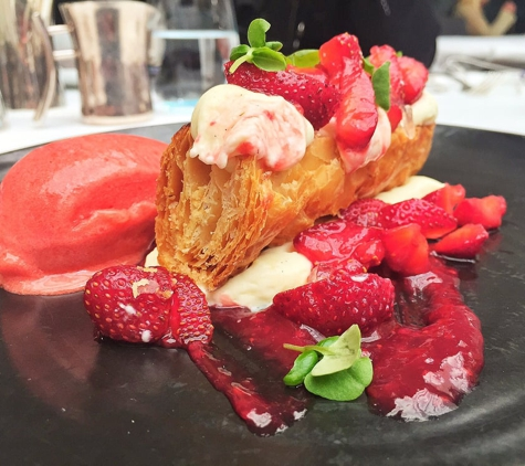 Spago - Beverly Hills - Beverly Hills, CA. Strawberry Mille Feuille