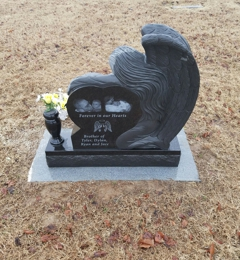 Seymore Memorials - Dexter, MO. This is a marker I had done for my son. I was really impressed. They did an excellent job!