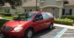 Bushnell Medical Clinic - Bushnell, FL. This company's employees have no compassion at all for the disabled. The young lady driving this van was too lazy to carry her delivery.