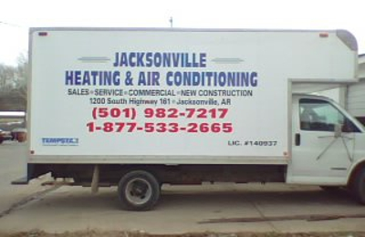 Jacksonville Heating & Air Conditioning Inc - Jacksonville, AR