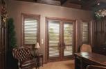 Matching door and window shades