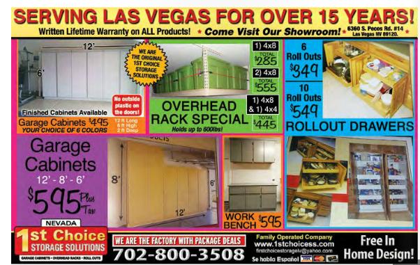 1st Choice Storage Solutions 6360 S Pecos Rd Ste 14 Las Vegas Nv 89120 Yp