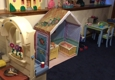 Christy's home childcare - Framingham, MA. Our Kitchen, Doll House & Play Area