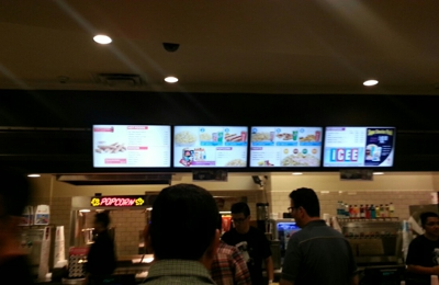 AMC Theaters - Los Angeles, CA. Downstairs concession stand