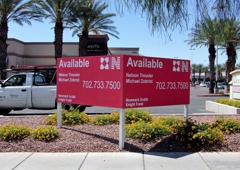 Signworld of Las Vegas - Las Vegas, NV. 4x8 V-Shape Sign