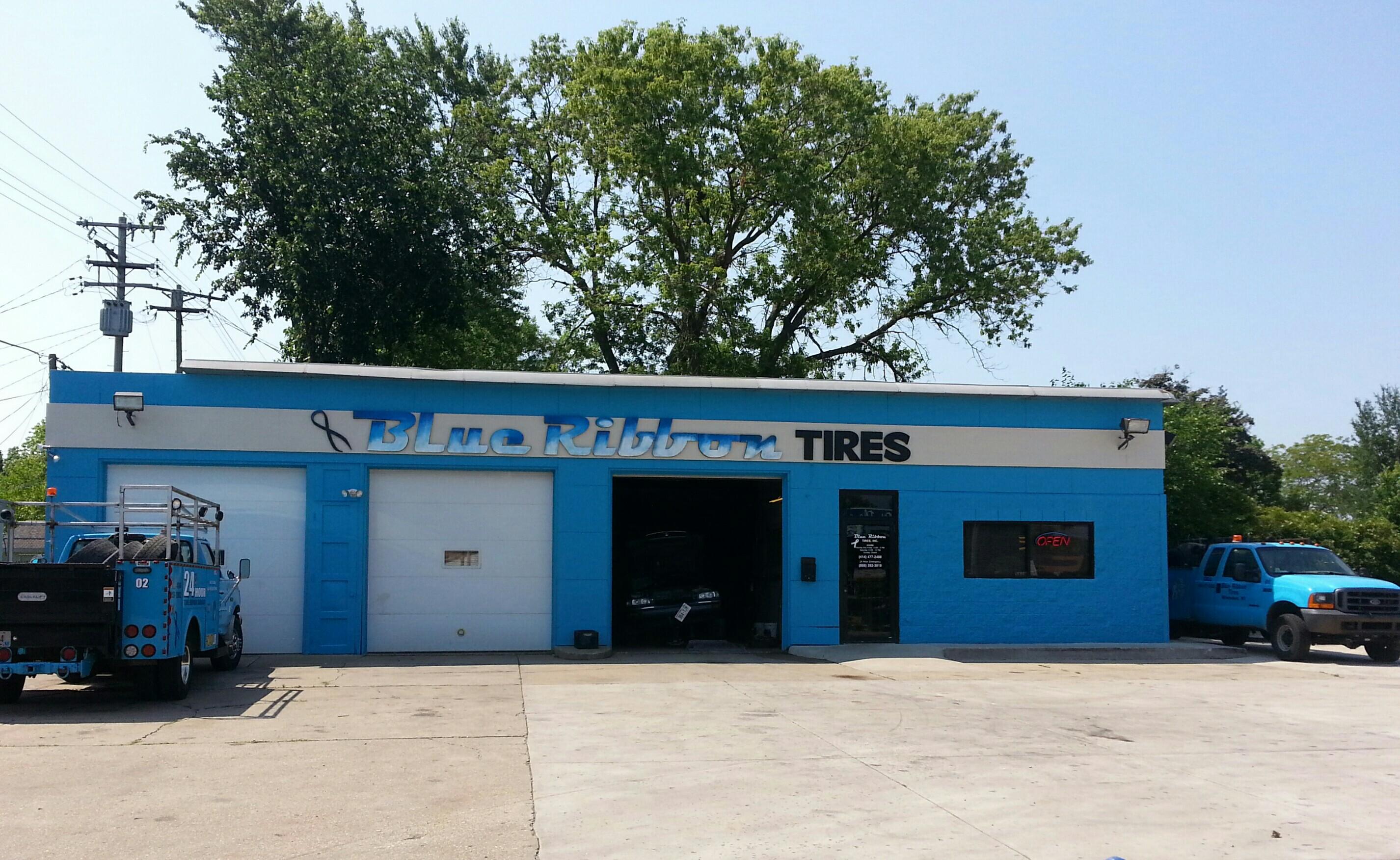 Blue Ribbon Tires 5829 W Villard Ave Milwaukee Wi 53218 Yp Com