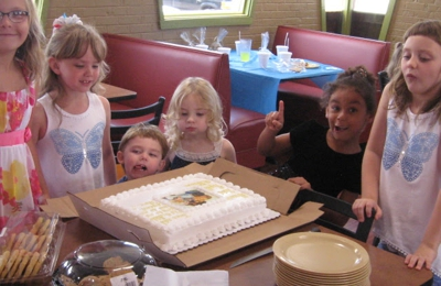 East of Chicago Pizza - Vienna, WV. Baptism celebration