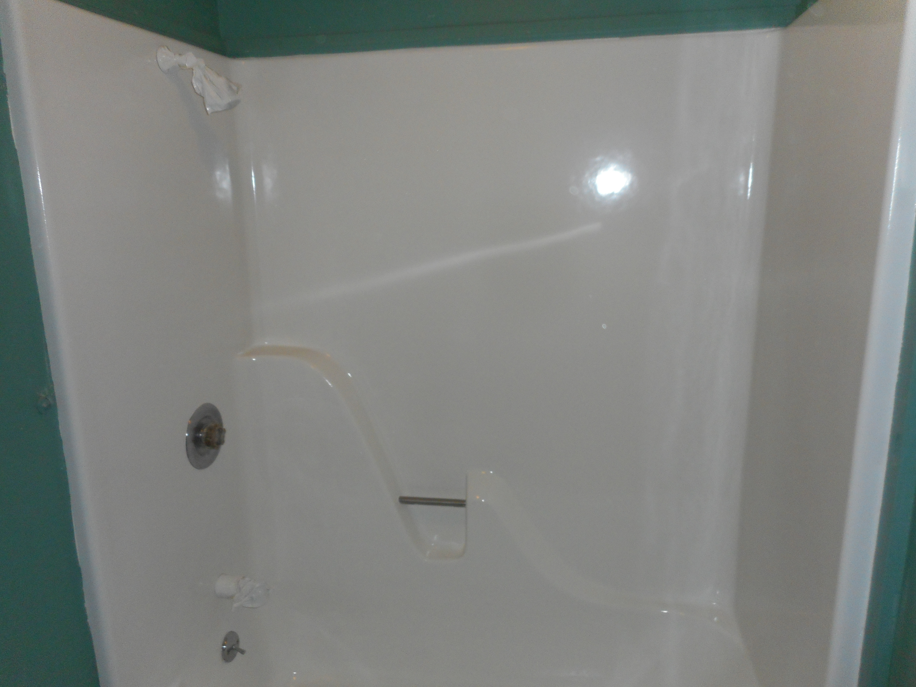 iron tub with and in angeles color painted reglazing reglazed los white bathtub metal