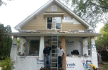Exterior remodel on a 100+ year old house in Farmington Mn.