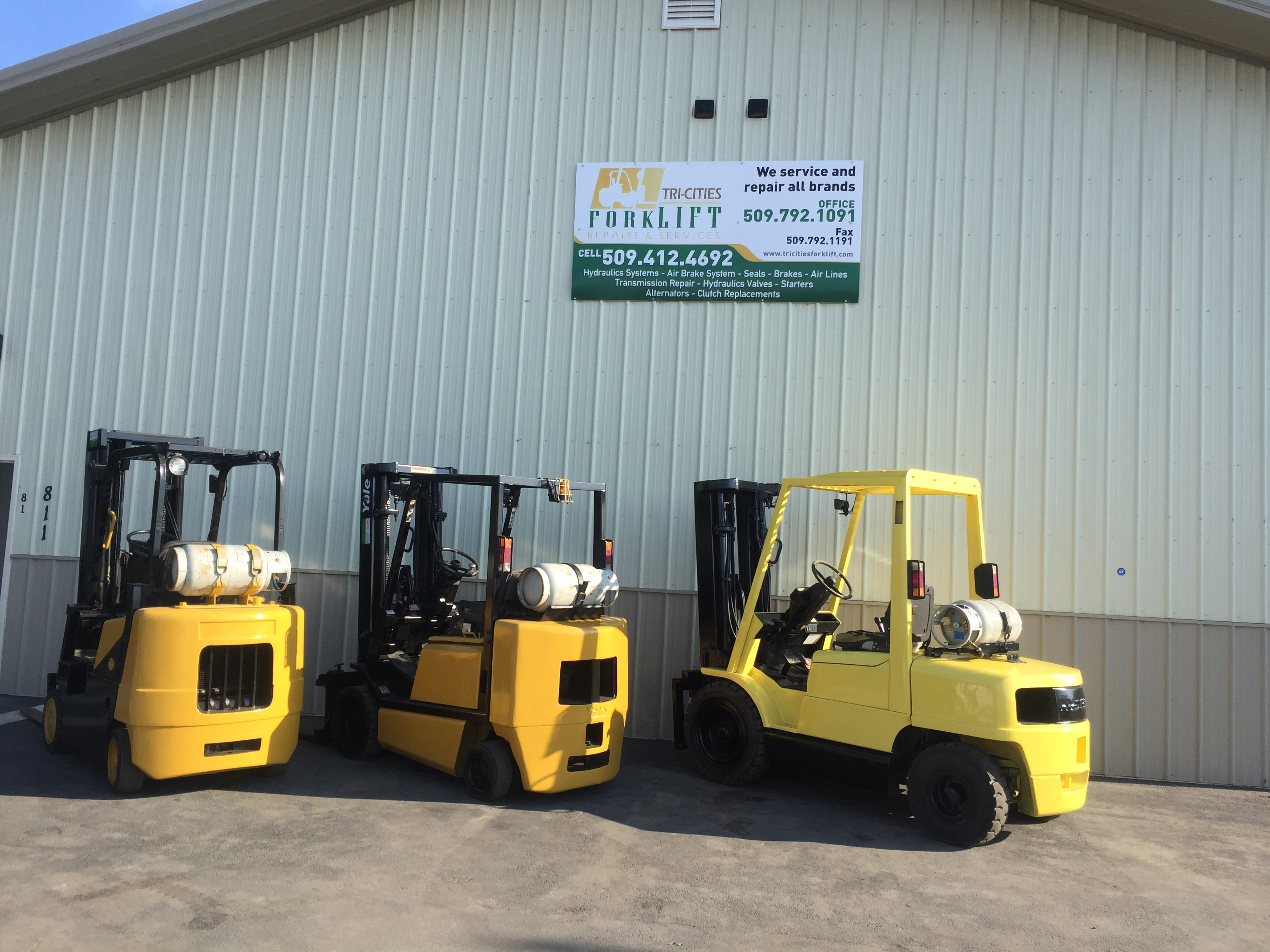 Tri Cities Fork Lift Repair And Service 811 S Myrtle Ave Pasco WA