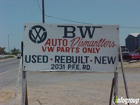 B W Auto Dismantlers 2031 Pfe Rd, Roseville, CA 95747 - YP com