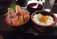 Octopus Japanese Restaurant - Glendale, CA. chirashi bowl = mixed sashimi on bed of sushi rice