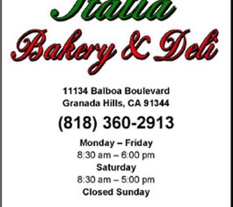 Italia Bakery & Deli - Granada Hills, CA