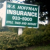 W S Hoffman Insurance Agency Notary and Auto Tag Services
