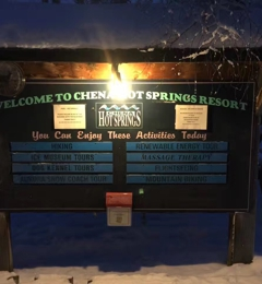 Chena Hot Springs Resort - North Pole, AK